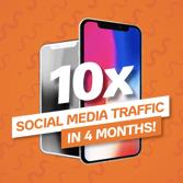 Social media traffic roi