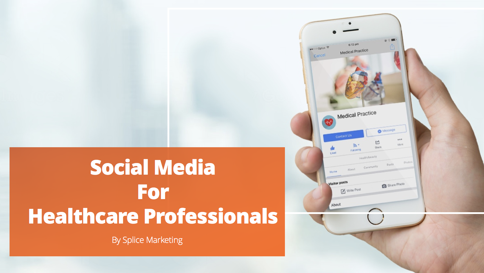 Making social media work for healthcare professionals